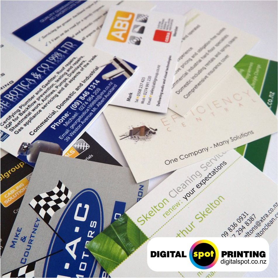 Business cards printing henderson auckland digital spot printing business card prices 2016 nz auckland from 3900 reheart Image collections