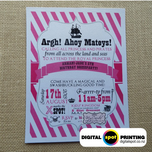 Birthday invitation printing henderson auckland we stopboris Choice Image